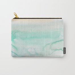 12   | Abstract Minimal Watercolor Painting | 191223 Carry-All Pouch