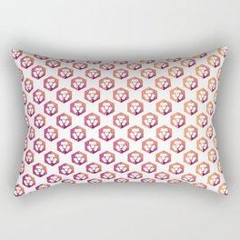 Monaco - Crypto Fashion Art (Small) Rectangular Pillow