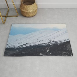 Blue Behind The Mountains 3 Rug