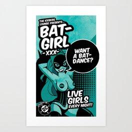 Ladies of DC - Batgirl Art Print