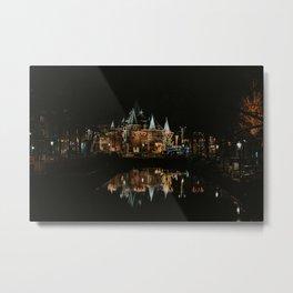 Amsterdam by night | Netherlands | travelphotography | Europe Metal Print