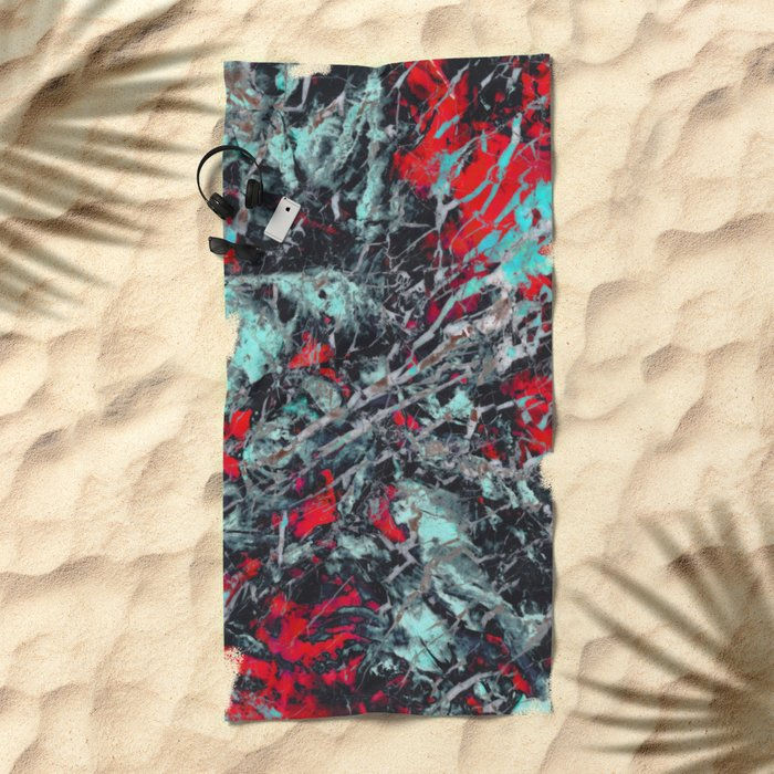 α Equuleus Beach Towel