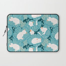 Where cats live Laptop Sleeve