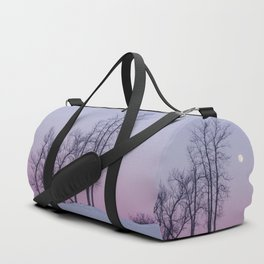Winter comes to Sandbanks Duffle Bag
