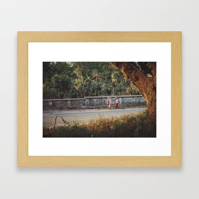 Asia 5 Framed Art Print