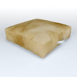 Yellow clouds Outdoor Floor Cushion