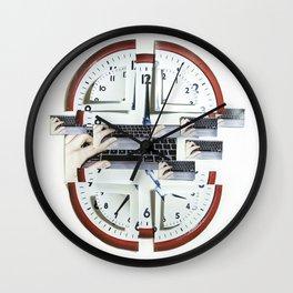 Heures Suplémentaires Wall Clock