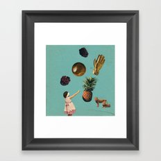 GOALS Framed Art Print
