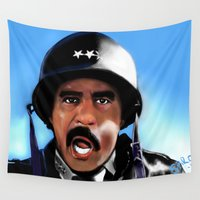 general Wall Tapestries featuring General Pryor by Spiro 1230