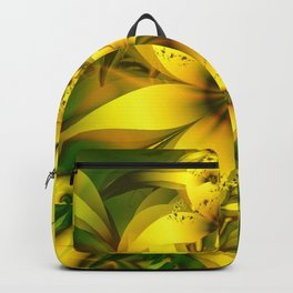 Happiness Is a Meadow of Yellow Daffodil Flowers Backpack