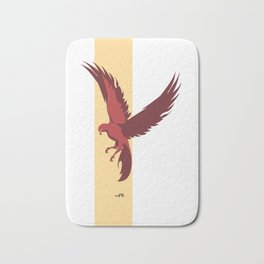 Red Falcon Bath Mat