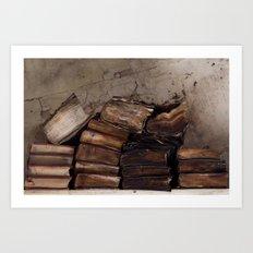 The Written Word Art Print