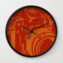 Camera Lines Wall Clock