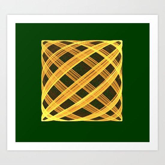 Fractal Pillow Art Print