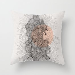 - new romantism - Throw Pillow