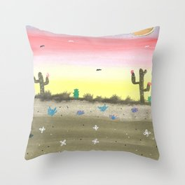 skyscapes 8 Throw Pillow