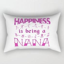 Happiness is Being a NANA Rectangular Pillow