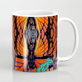 MONARCH BUTTERFLY ABSTRACT ART Coffee Mug