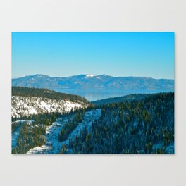 Keep Tahoe Blue Canvas Print