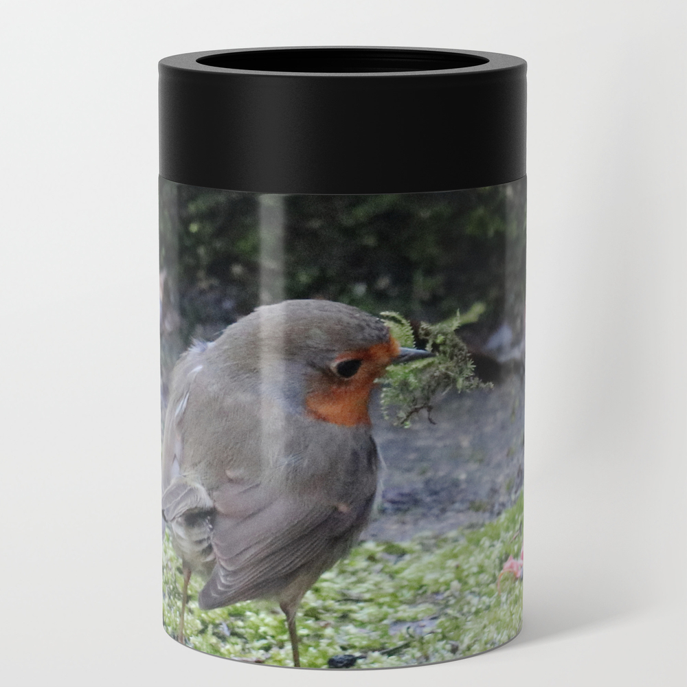 Robin Redbreast Can Cooler by bryanwb (CCD10736377) photo