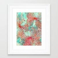 butterfly Framed Art Prints featuring Butterfly Pattern by Klara Acel