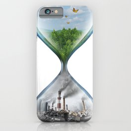 Climate Change Environmental Global Warming iPhone Case