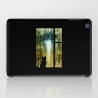 ufo iPad Cases featuring UFO by Bakal Evgeny