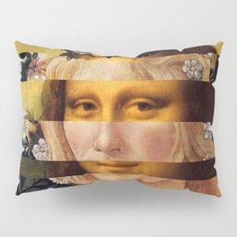 Leonardo Da Vinci'sMona Lisa & Botticelli's Venus Pillow Sham