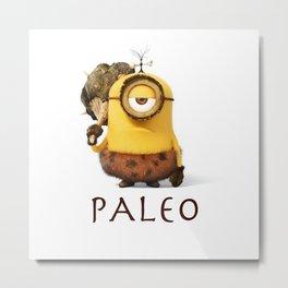 Paleo Minion Metal Print
