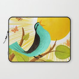 Early To Rise Laptop Sleeve