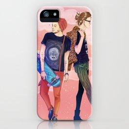 Walk walk fashion baby.  iPhone Case