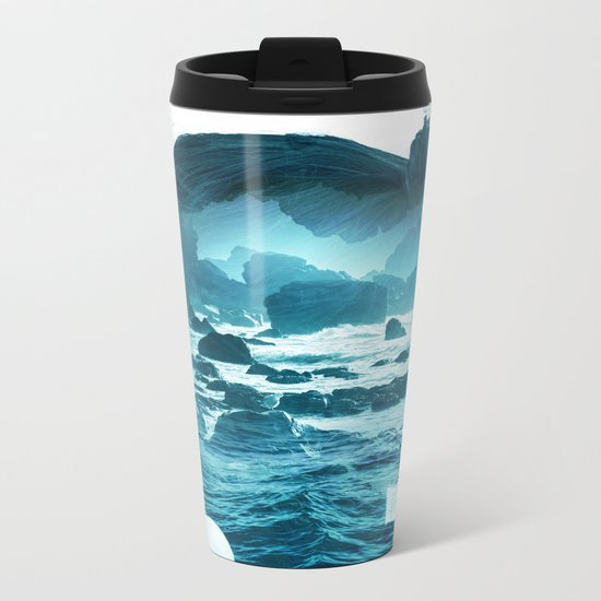The Sea Inside Me Metal Travel Mug