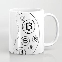 Bitcoin Miner Cryptocurrency Drawing Coffee Mug