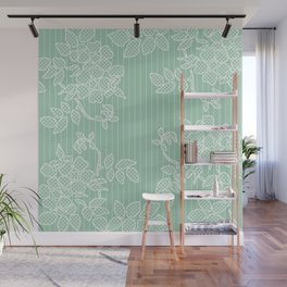 SPRING IN GREEN Wall Mural