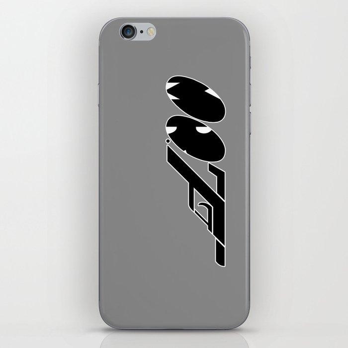 Mr. F (b) iPhone Skin
