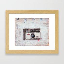 Kodak Instamatic 100 Framed Art Print