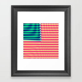 Quantum USA Framed Art Print