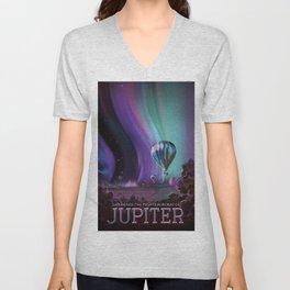 Jupiter Poster Unisex V-Neck