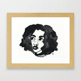 Inkjet afro Framed Art Print