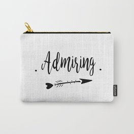 Admiring Lettering-PM coll Carry-All Pouch