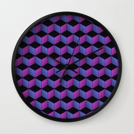 Game of Cubes - Nightclub Wall Clock