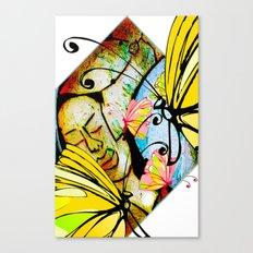 Cabsink16DesignerPatternWBF Canvas Print