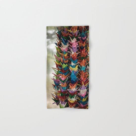 Paper Cranes Hand & Bath Towel