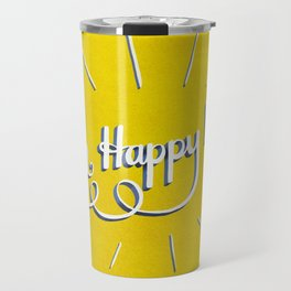 Oh Happy Day Travel Mug