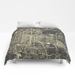 Denver map Comforters