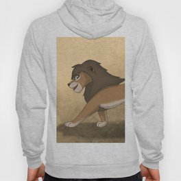 Running lions Hoody