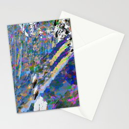 landscape collage #19 Stationery Cards