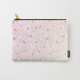 Leaves in Sunset Carry-All Pouch