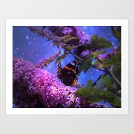 Fantasy Butterfly Art Print
