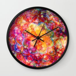 Dreaming Lotus Wall Clock